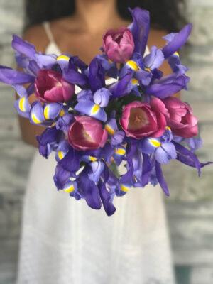 Iris and Tulips – Deluxe